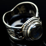 Labradorite Rings handcrafted by Ana Silver Co - RING24530