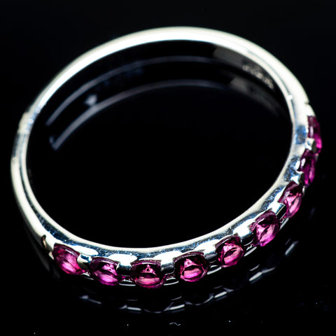 Pink Tourmaline Rings handcrafted by Ana Silver Co - RING24546