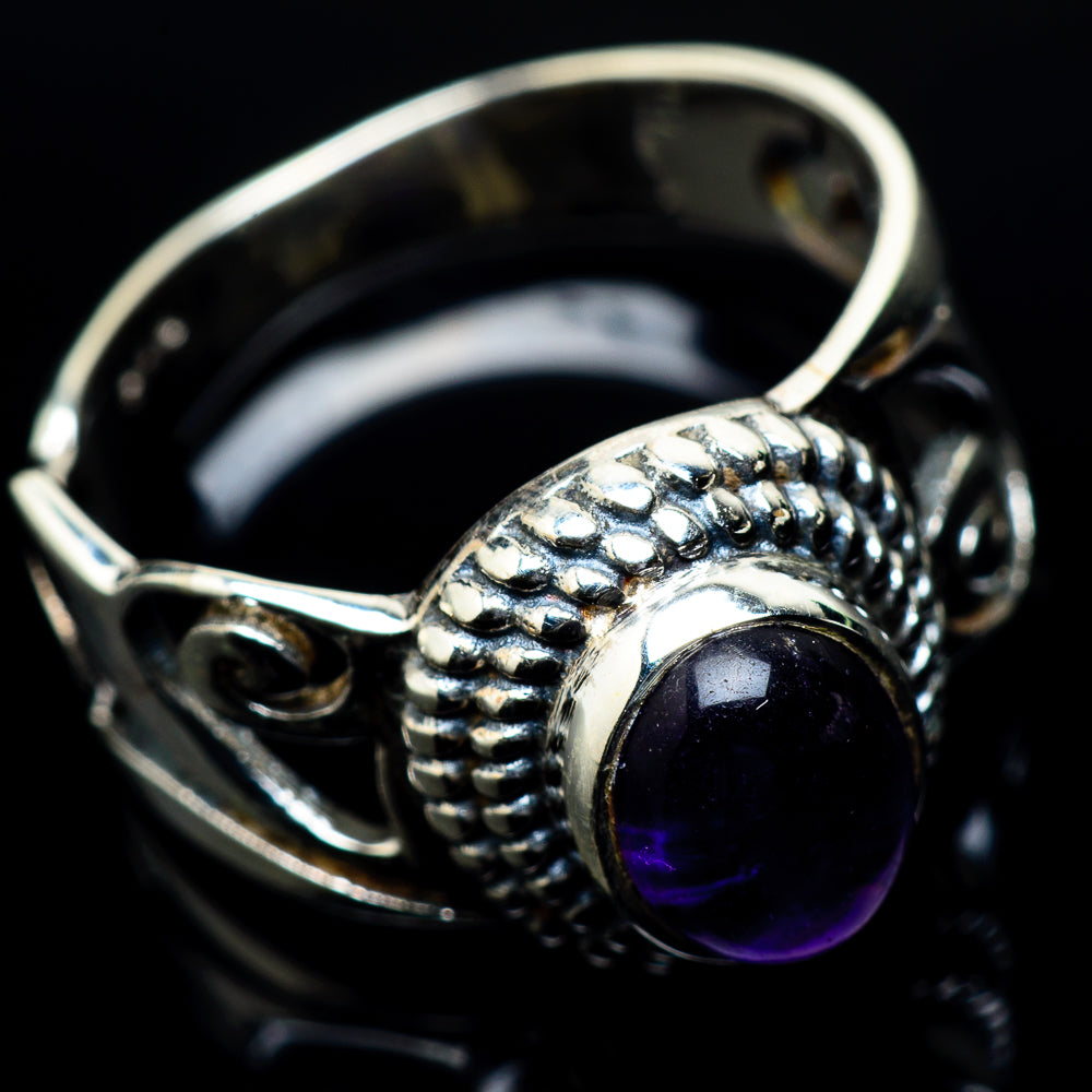 Amethyst Rings handcrafted by Ana Silver Co - RING24550