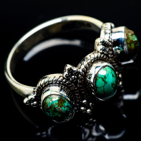 Turquoise Rings handcrafted by Ana Silver Co - RING24566
