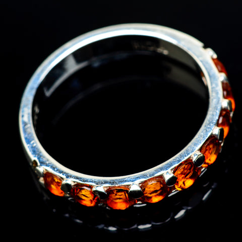 Mandarin Citrine Rings handcrafted by Ana Silver Co - RING24596