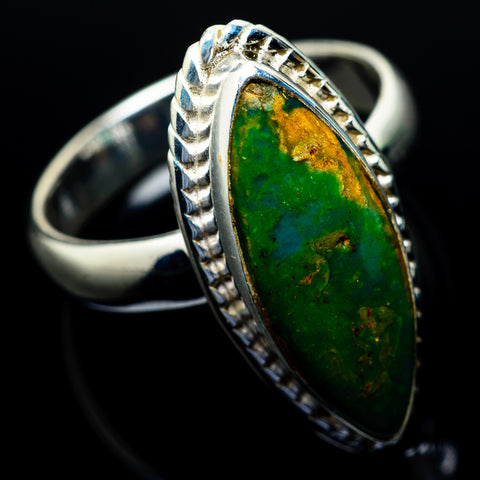 Peruvian Opal Rings handcrafted by Ana Silver Co - RING24619