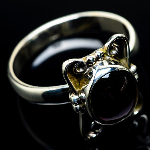 Garnet Rings handcrafted by Ana Silver Co - RING24629