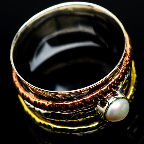 Cultured Pearl Rings handcrafted by Ana Silver Co - RING24658