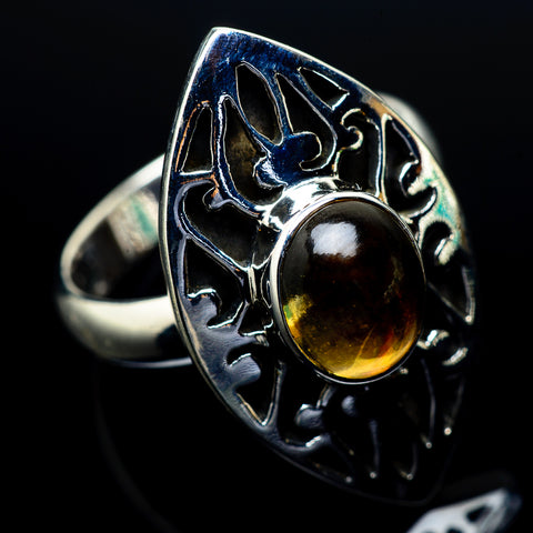 Citrine Rings handcrafted by Ana Silver Co - RING24673
