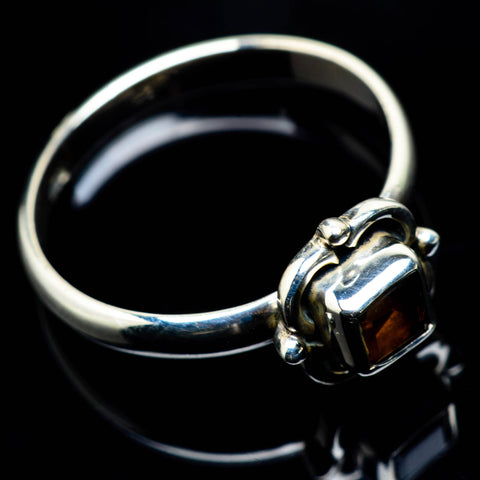 Smoky Quartz Rings handcrafted by Ana Silver Co - RING24697