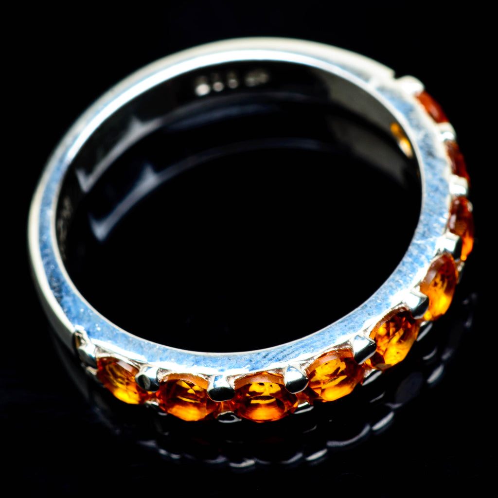 Citrine Rings handcrafted by Ana Silver Co - RING24729