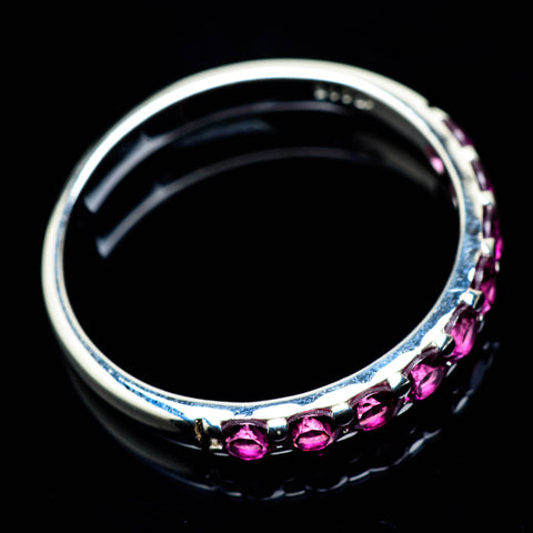 Pink Tourmaline Rings handcrafted by Ana Silver Co - RING24732