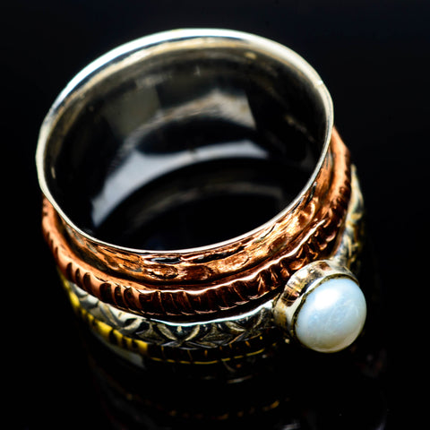 Cultured Pearl Rings handcrafted by Ana Silver Co - RING24737
