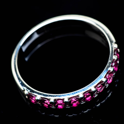 Pink Tourmaline Rings handcrafted by Ana Silver Co - RING24761