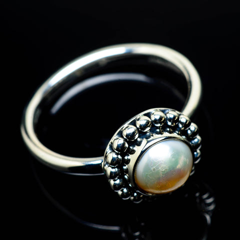 Cultured Pearl Rings handcrafted by Ana Silver Co - RING24771