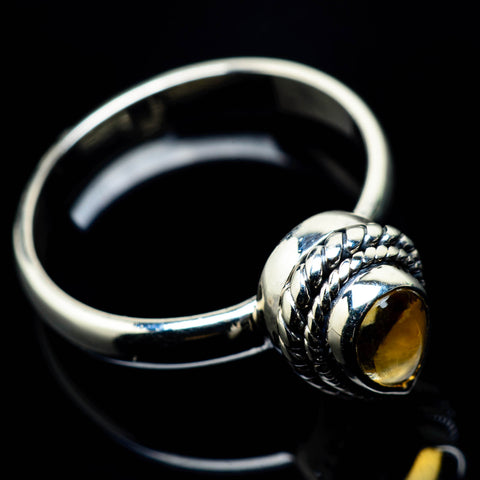Citrine Rings handcrafted by Ana Silver Co - RING24787