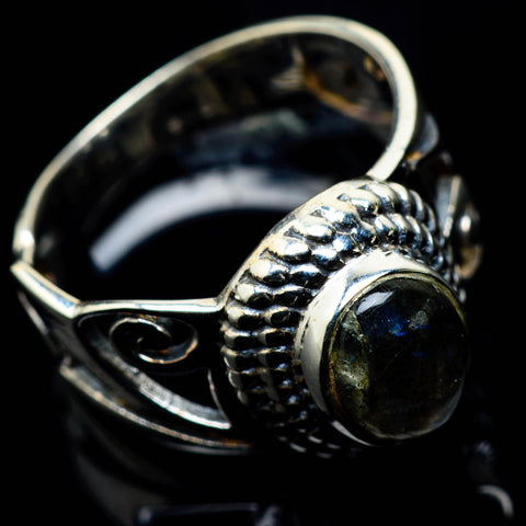 Labradorite Rings handcrafted by Ana Silver Co - RING24838