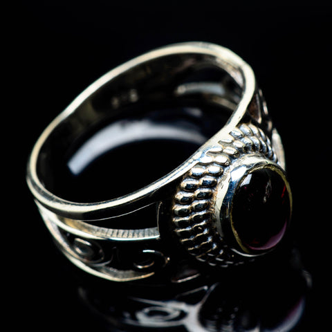 Garnet Rings handcrafted by Ana Silver Co - RING24852