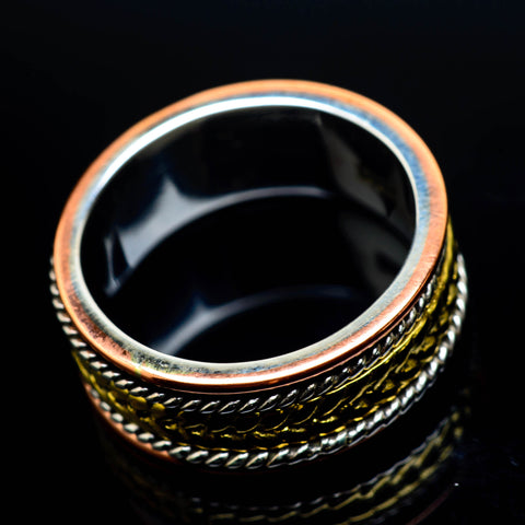 Meditation Spinner Rings handcrafted by Ana Silver Co - RING24855