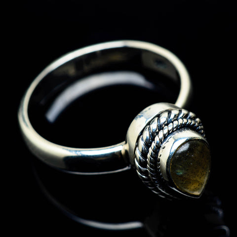 Labradorite Rings handcrafted by Ana Silver Co - RING24918