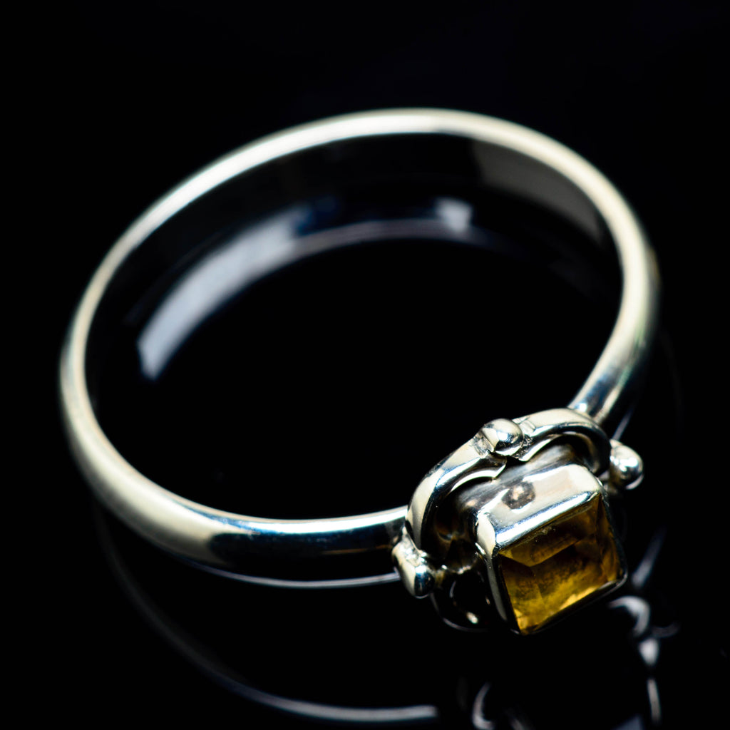 Citrine Rings handcrafted by Ana Silver Co - RING24933