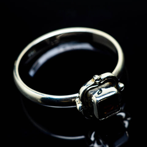 Smoky Quartz Rings handcrafted by Ana Silver Co - RING24986