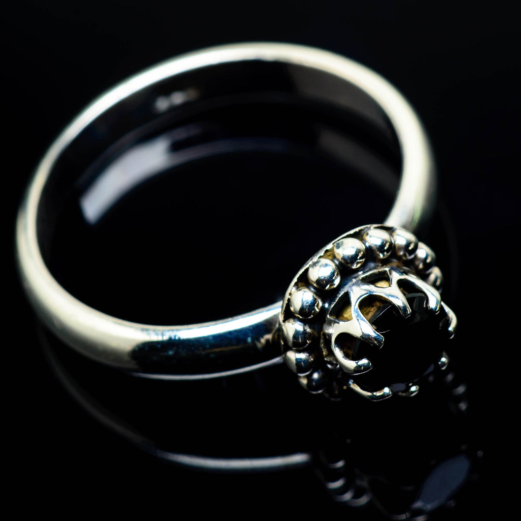 Black Onyx Rings handcrafted by Ana Silver Co - RING24997