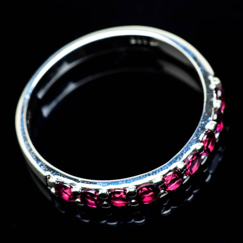 Pink Tourmaline Rings handcrafted by Ana Silver Co - RING25016