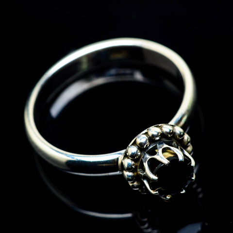 Black Onyx Rings handcrafted by Ana Silver Co - RING25021