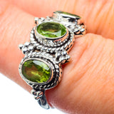 Peridot Rings handcrafted by Ana Silver Co - RING25094