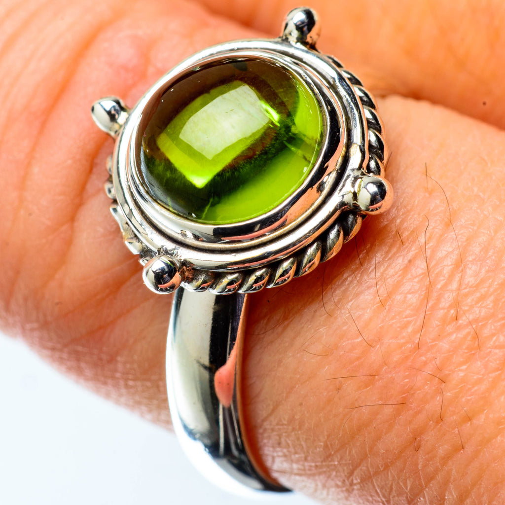 Peridot Rings handcrafted by Ana Silver Co - RING25150