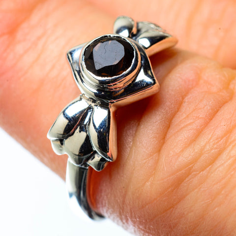 Smoky Quartz Rings handcrafted by Ana Silver Co - RING25274