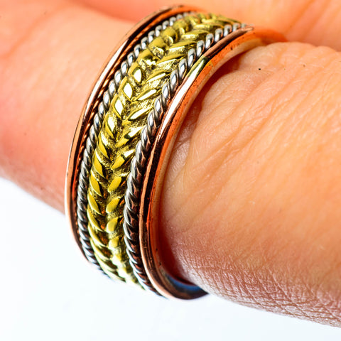 Meditation Spinner Rings handcrafted by Ana Silver Co - RING25318