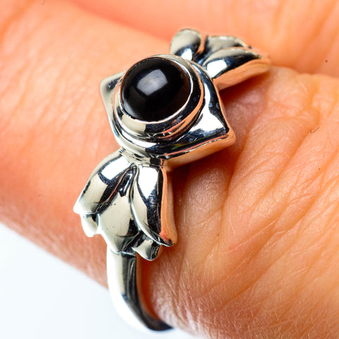 Black Onyx Rings handcrafted by Ana Silver Co - RING25353
