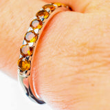 Citrine Rings handcrafted by Ana Silver Co - RING25564
