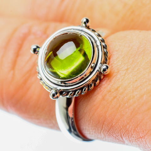 Peridot Rings handcrafted by Ana Silver Co - RING25702