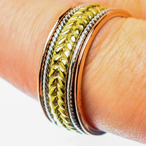 Meditation Spinner Rings handcrafted by Ana Silver Co - RING25722