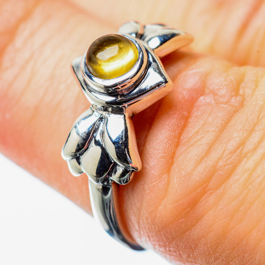 Citrine Rings handcrafted by Ana Silver Co - RING25813