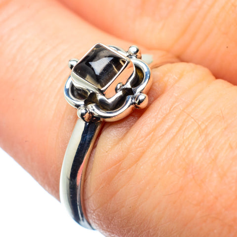 Smoky Quartz Rings handcrafted by Ana Silver Co - RING26167