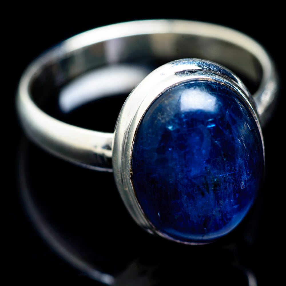 Kyanite Rings handcrafted by Ana Silver Co - RING2618