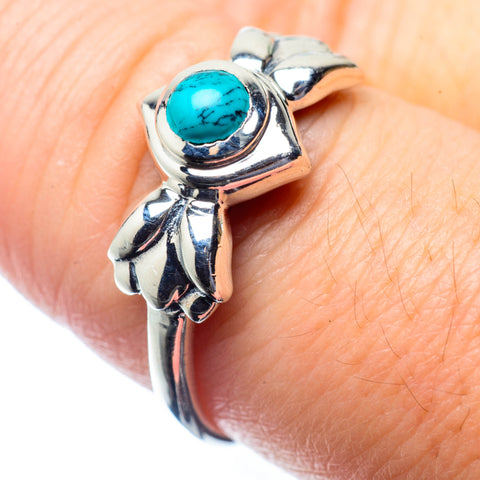 Tibetan Turquoise Rings handcrafted by Ana Silver Co - RING26379