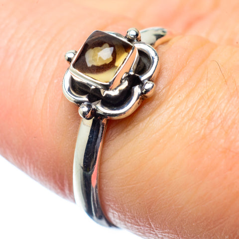 Smoky Quartz Rings handcrafted by Ana Silver Co - RING26427