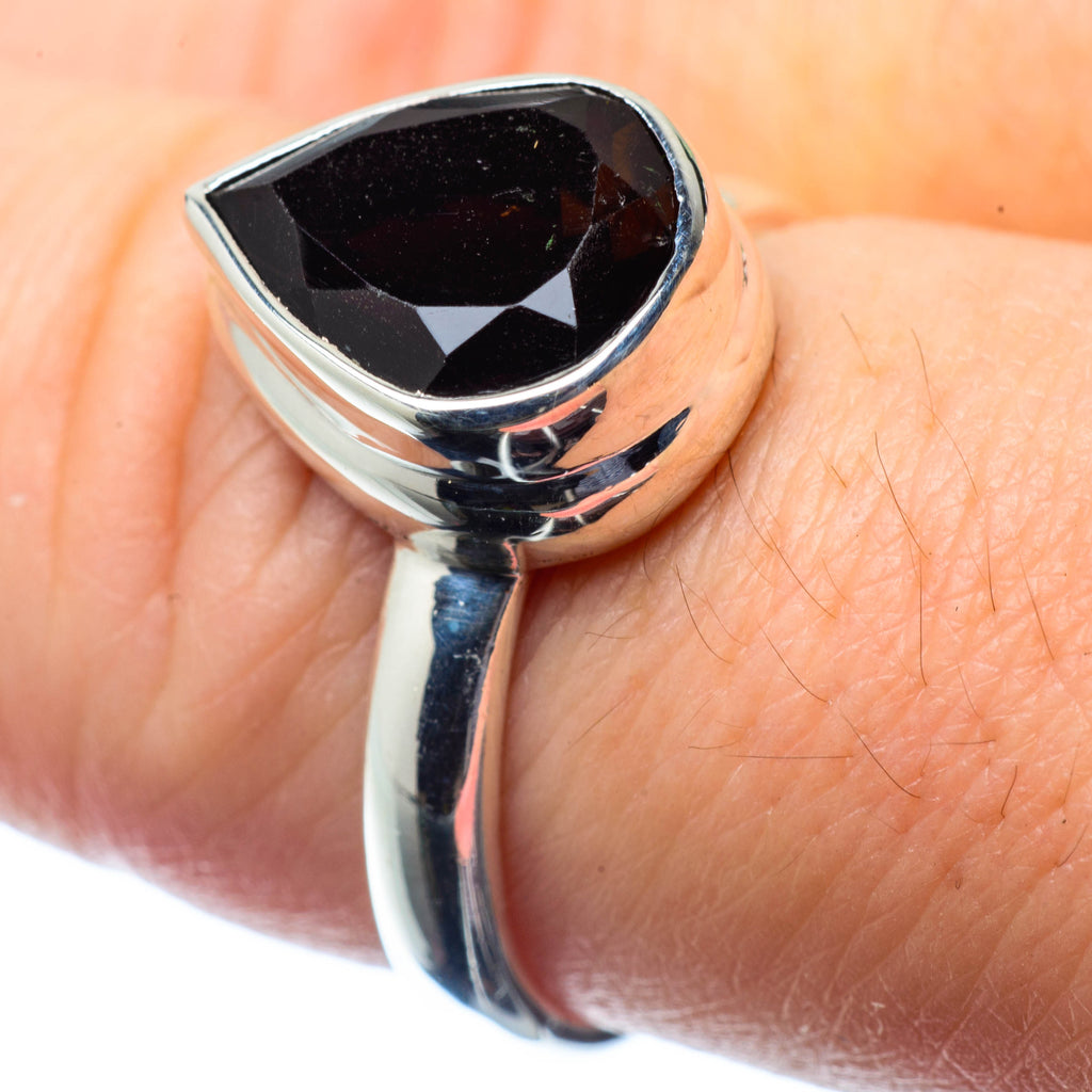 Smoky Quartz Rings handcrafted by Ana Silver Co - RING26500