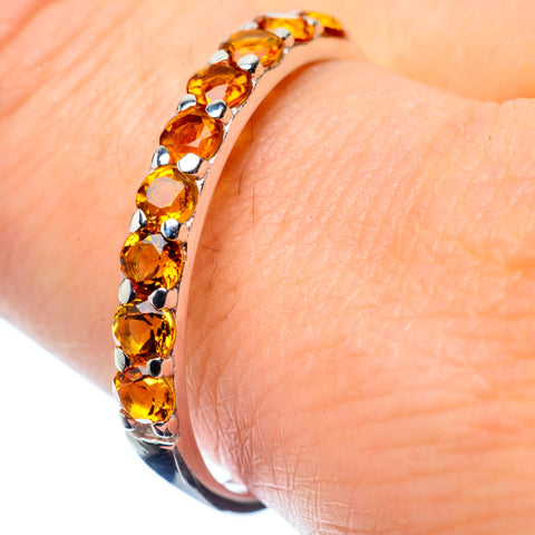 Citrine Rings handcrafted by Ana Silver Co - RING26539