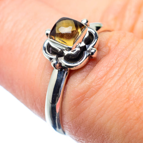 Smoky Quartz Rings handcrafted by Ana Silver Co - RING26712