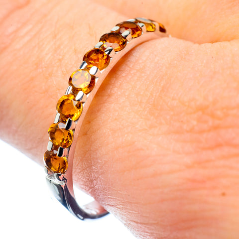 Citrine Rings handcrafted by Ana Silver Co - RING26714