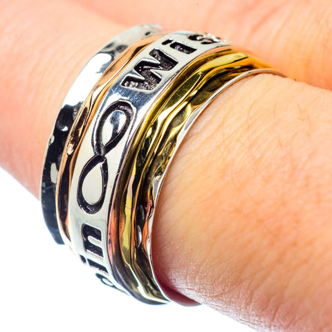 Meditation Spinner Rings handcrafted by Ana Silver Co - RING26723