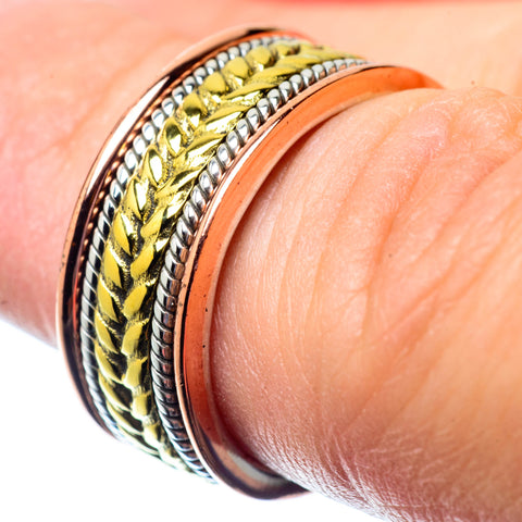 Meditation Spinner Rings handcrafted by Ana Silver Co - RING26787