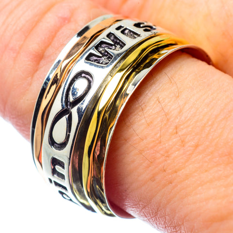 Meditation Spinner Rings handcrafted by Ana Silver Co - RING26820