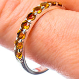 Citrine Rings handcrafted by Ana Silver Co - RING26844