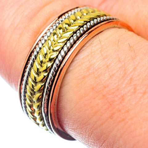 Meditation Spinner Rings handcrafted by Ana Silver Co - RING26853