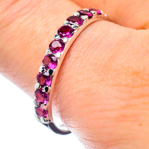 Pink Tourmaline Rings handcrafted by Ana Silver Co - RING26881