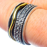 Meditation Spinner Rings handcrafted by Ana Silver Co - RING26927