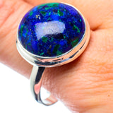 Azurite Rings handcrafted by Ana Silver Co - RING27063